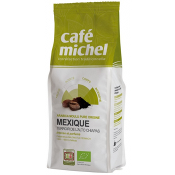 Café en grains ARABICA pure origine MEXIQUE - Terroir de l'Alto Chapias, 500 g