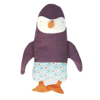 Kit Doudou Animal Pépin le Pingouin- LA SARDINE