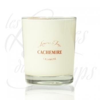 Bougie Végétale parfumée Cachemire - 180 g - Les Lumières du Temps