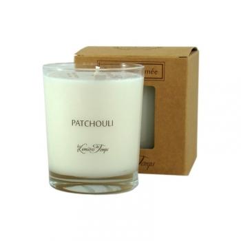 Bougie Végétale parfumée patchouli - 180 g - Les Lumières du Temps