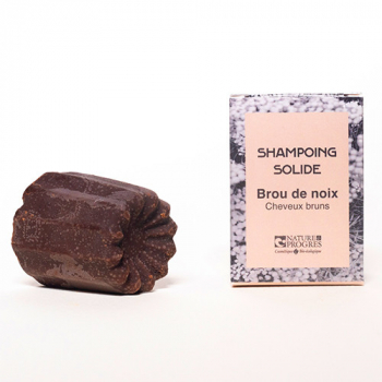 Shampoing solide Brou de noix 60g