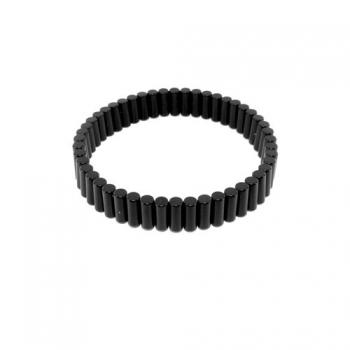 Bracelet de cheville noir