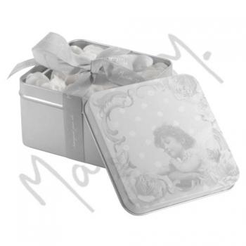 Boîte roses de savon, senteur Rose - 45 gr - Mathilde M.