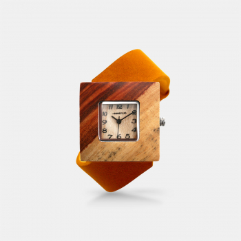 Montre Femme SQUARE ORANGE M