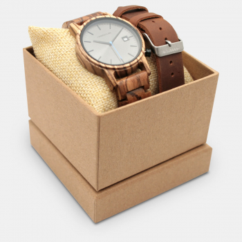 Montre Homme COFFRET MONTRE METRO BROWN