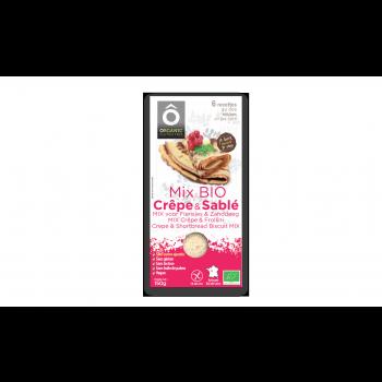 Mix Pâtissier Crêpe&Sablés BIO Vegan, sans gluten et san sucre ajouté 150g