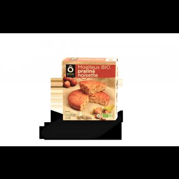 Moelleux Praliné Noisette BIO sans gluten 150g
