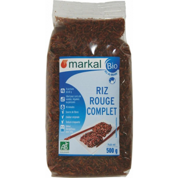 Riz Rouge Complet, 500 g