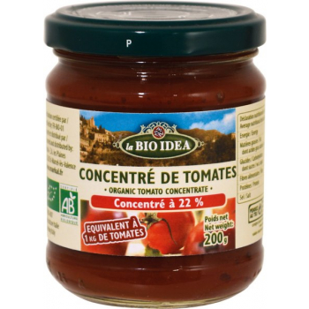 Concentre De Tomates 22%, 200 g