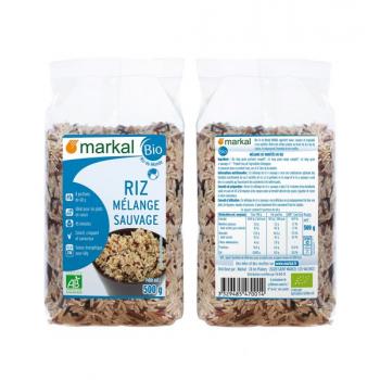 Riz mélange sauvage, 500 g