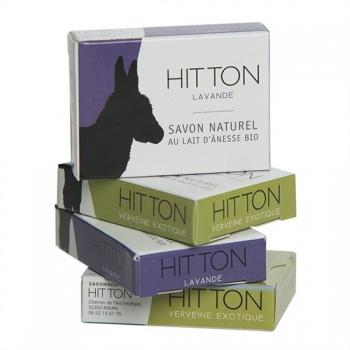 Mini-savon au lait d'ânesse bio - verveine  HITTON