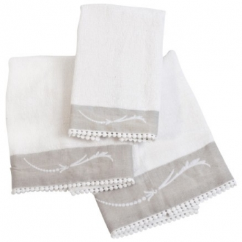 Set serviettes bain bébé - Mathilde M