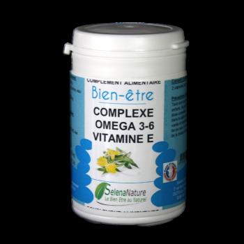Omega 3 - 6 et vitamine E