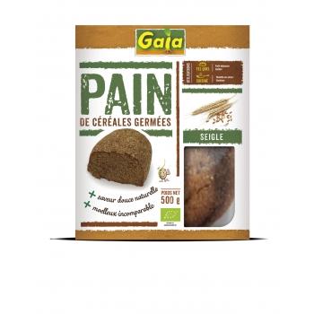 Pain de céréales germées Seigle 500g
