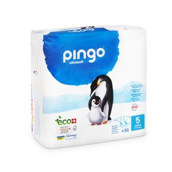 PINGO couches écologiques jetables t5 (11-25 kg)