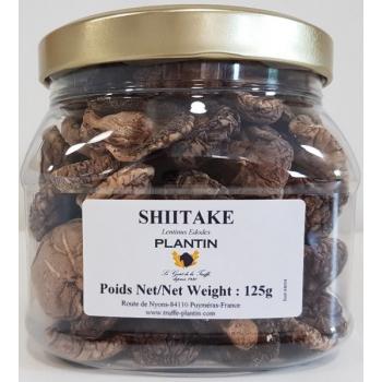 Shiitakes séchés, 125 g