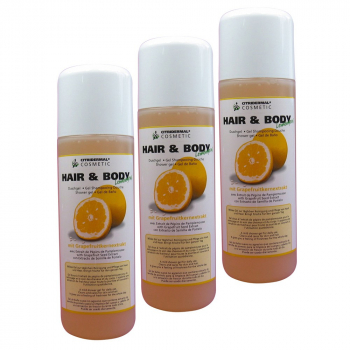 Hair and Body Lemongrass Lot de 3