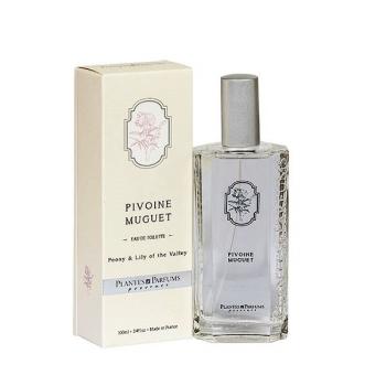 Eau de Toilette pivoine & muguet - 100ml - Plantes & Parfums de Provence