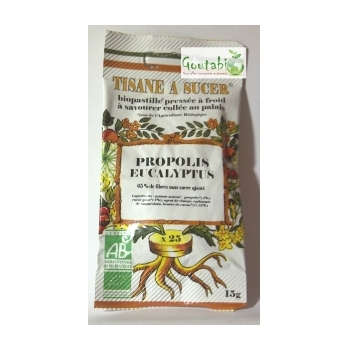 Bio Pastilles Propolis et Eucalyptus Bio