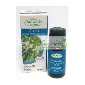 Diffusion Détente - Sommeil Bio 10 ml