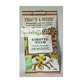 Bio Pastilles Girofle et Thym Bio