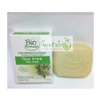 Pain Dermatologique Tea Tree Bio