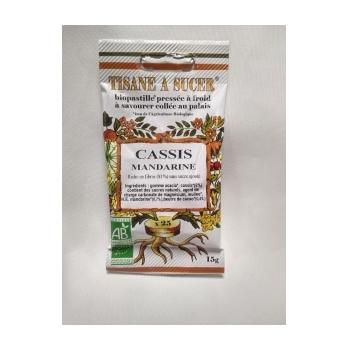 Bio Pastilles Cassis Mandarine Bio