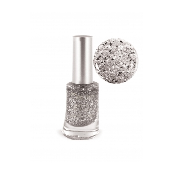 Vernis à Ongles n°14 Glitter Argent
