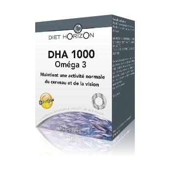 DHA 1000 - Oméga 3 - Diet Horizon