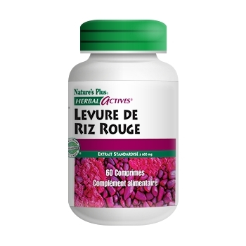 Levure de riz rouge 600 mg - Nature Plus