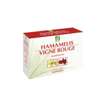 Hamamelis-vigne rouge bio- ampoules circulation
