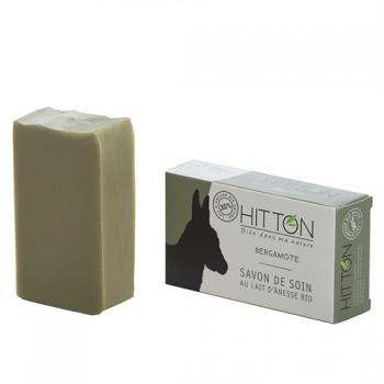 Savon au lait d'ânesse bio - Bergamote  HITTON