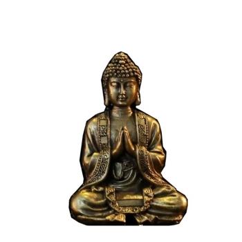 Statuette Décoration Feng Shui Bouddha Or