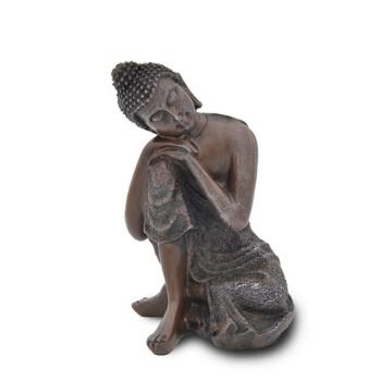 Statuette Décoration Feng Shui Bouddha Thai Penseur