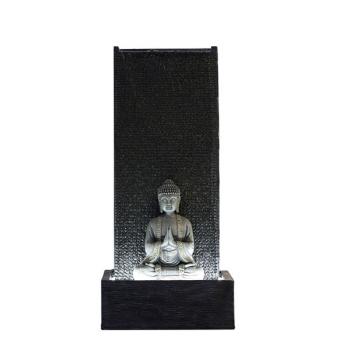 Grande Fontaine Mur Bouddha avec Eclairage Led pour Jardin ou Terrasse