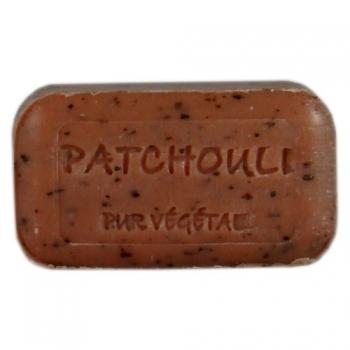 Savon moulé enrichi à l'Huile d'argan bio - Patchouli broyé - 100 g   - Savonnerie de Bormes