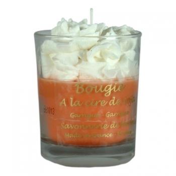 Bougie parfumée à la cire de soja Garrigue - Savonnerie de Bormes
