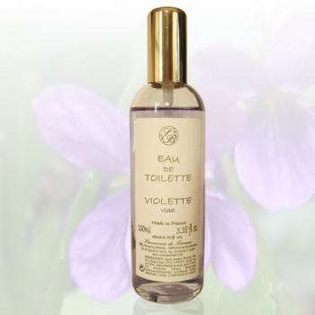 Eau de toilette - Violette - 100 ml - Savonnerie de Bormes