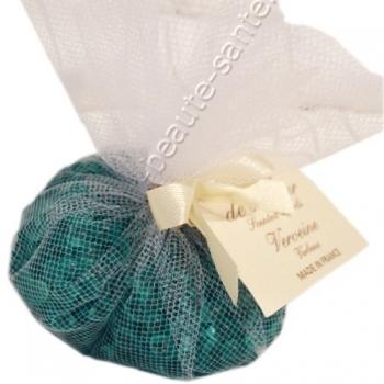 Perles de senteurs en baluchons - Verveine - Savonnerie de Bormes