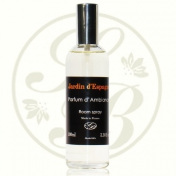 Parfum d'ambiance  - Black Ligne - Jardin d'Espagne  - Savonnerie de Bormes