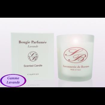 Bougie parfumée - lavande - 165 g - Savonnerie de Bormes