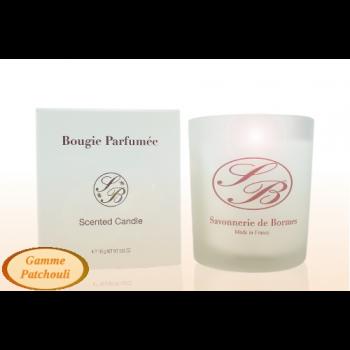 Bougie parfumée - patchouli - 165 g - Savonnerie de Bormes