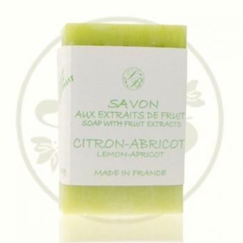 """Savon parfumé aux extraits de fruits """"Verger"""" - 100 gr - Savonnerie de Bormes"""