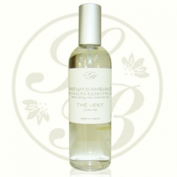 Parfum d'ambiance - Thè vert - 100 ml - Savonnerie de Bormes