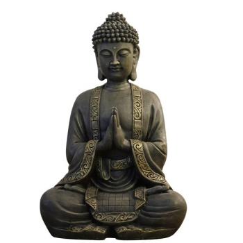 Grande Statue Décoration Zen Bouddha Méditation