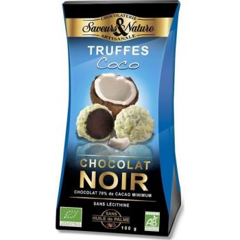 Truffes de chocolat et NOIX DE COCO, 100 g
