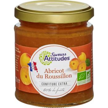 Confiture d'Abricot du Roussillon bio, 220 g