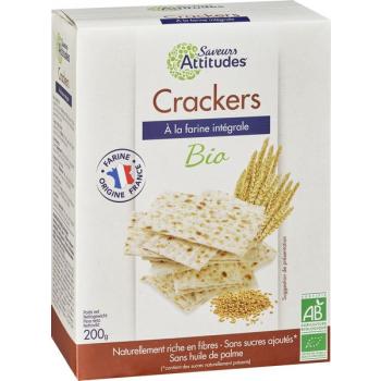 Crackers - façon Pain Azyme bio - Farine Origine France, 200 g