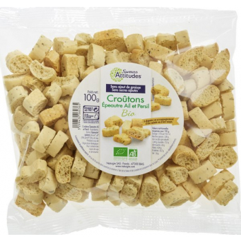 Croûtons à la farine d'Epeautre Ail & Persil, 100 g
