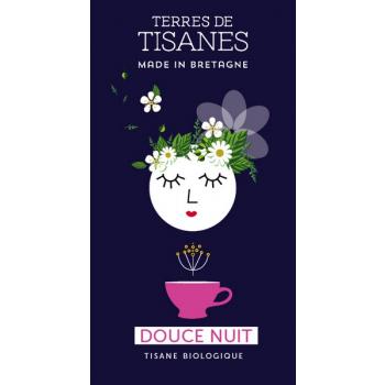 Douce nuit, tisane Bio du Morbihan, 20 g